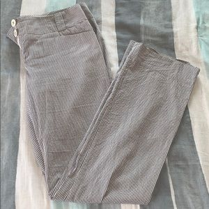 The Limited Drew Fit pinstripe pants